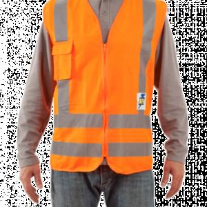 Chaleco Alta Velocidad RFX Naranjo