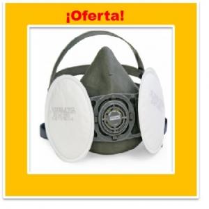 PROMOCION KIT RESPIRADOR STEELPRO V800 CON FILTRO P3P100 PANCAKE PARTICULAS