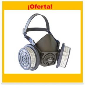 PROMOCION KIT RESPIRADOR STEELPRO V800 CON FILTRO P3P100 RIGIDO PARTICULAS
