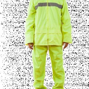 Traje Ejecutivo Amarillo Fluor